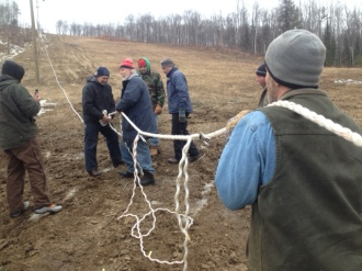 Splicing the rope